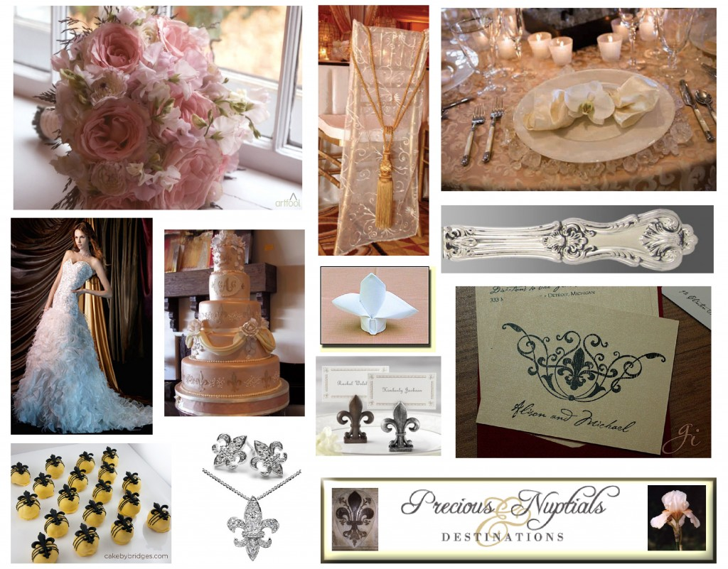 Fleur De Lis | Precious Nuptials + Destinations: The Blog