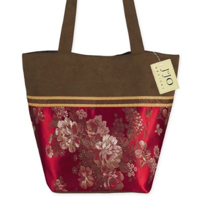 Make a cultural statement.  This Miller Home Fashions tote was found at Amazon for $28.99 each.