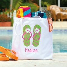 Pick your flip flop and your guest's name for only $14.95 at Personal Creations.