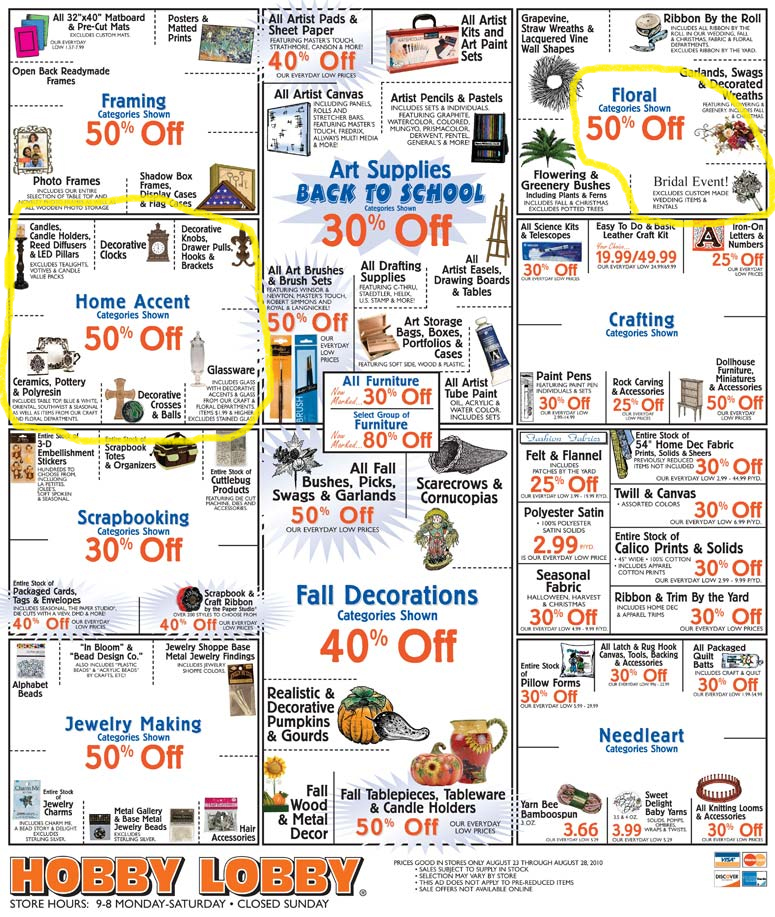 picture relating to Hobby Lobby Coupon Printable named Pastime foyer printable coupon august 2018 / Friday discount codes 2018