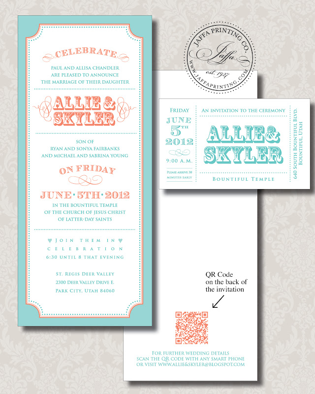 QR Code Makes Its Way To Your Wedding Invitation