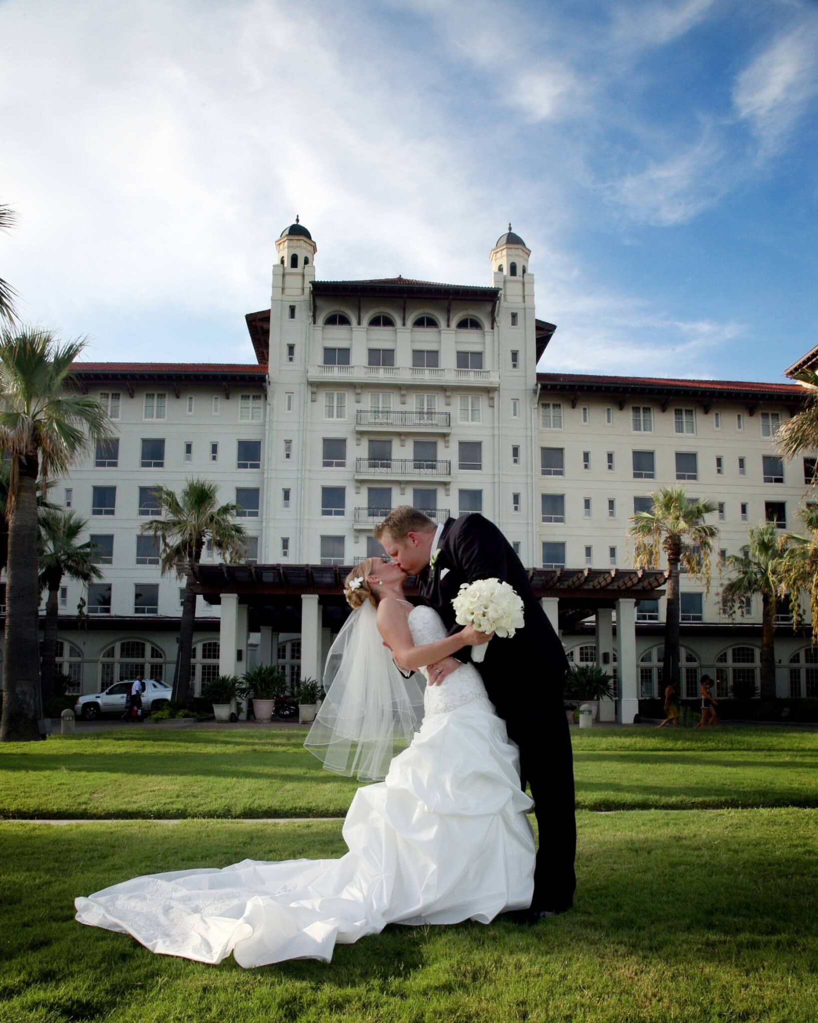 Galveston Elopement Wedding Packages Beach And Garden